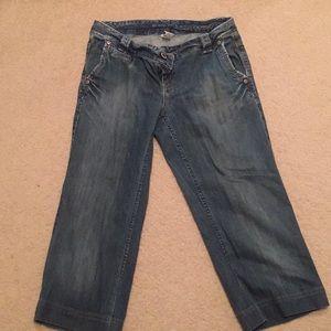 Size 4 Banana Republic Trouser Jeans.